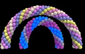 C4D汉化插件 气球拱门预设插件1.0