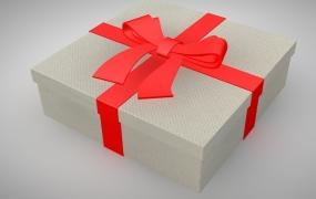 C4D礼盒模型预设