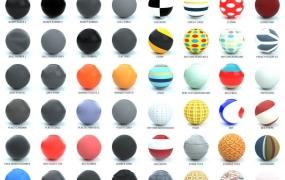 500个C4D for Octane渲染器材质预设合集包 The Pixel Lab Material Pack for Octane C4D