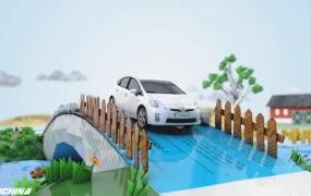 C4D教程 C4D-Toyota汽车广告案例全解析中文视频教程
