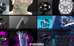 16组实用Cinema 4D C4D Redshift渲染器场景渲染灯光预设工程