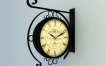 C4D模型 历史装饰老壁钟3D模型 C4D模型 含贴图 含材质