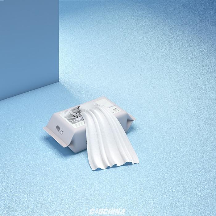 百汇 C4D模型 湿纸巾的包装C4D模型 含材质 含贴图 C4D模型 105328svudbr13cez3adj6